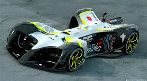 roborace shows off its driverless race car at mwc extremetech