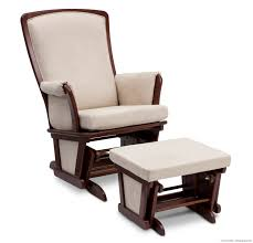 Rocking Chairs And Gliders For Nursery by Ottoman Appealing Nursery Ideas By Upholstered Glider And
