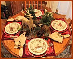woodland reindeer table u2022 must love home