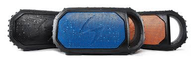 Ecoxgear Rugged And Waterproof Stereo Boombox Ecostone Shockproof Bluetooth Speaker Perfect For Your Next Road