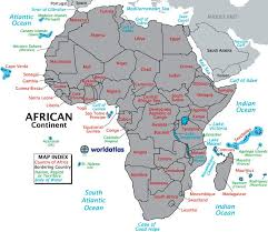 africa map study 15 best continents maps and information images on