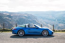 porsche convertible photos porsche 2016 911 targa 4s cabriolet light blue side cars
