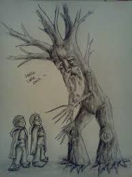 treebeard lord of the rings by theholybexter on deviantart