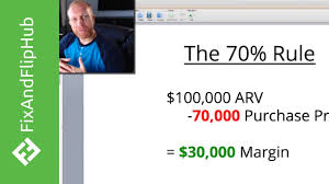 Flipping Houses by What Is The 70 Rule For Flipping Houses Youtube