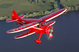 in a vintage 1935 waco miracle on the hudson pilot jeff skiles