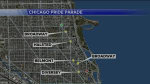 Chicago Lakeview Map by Chicago U0027s Pride Parade Kicks Off Sunday With A Warning To Behave