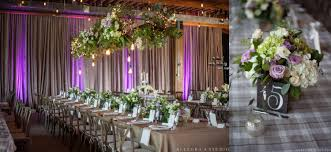 flower arrangements with lights weddings tourterelle floral design
