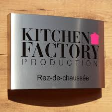stainless steel business signs plaques creation