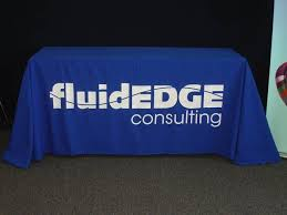 Trade Show Table Runner Custom Trade Show Booth Signage Signs By Tomorrow Of Norristown
