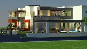 recent arabian modern contemporary beautiful house design 3d front