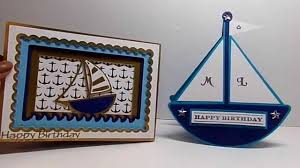 sailing themed birthday cards