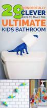 kids bathroom storage ideas