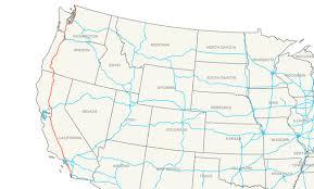 map of oregon i 5 interstate 5 wikiwand
