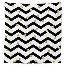 gold polka dot table cover chevron tablecloth zig zag symmetric pattern with gold polka dots