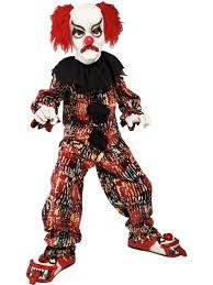 scary boy halloween costumes boy u0027s scary clown halloween costume halloween costumes mega