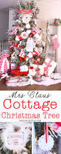 mrs claus cottage christmas tree design dazzle
