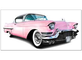 pink cars large pink canvas prints of a car