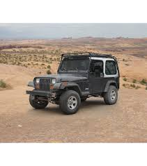 jeep gobi color jeep yj 86 95 stealth rack multi light setup gobi racks