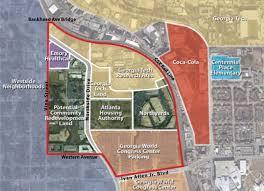 Seeking Atlanta Tech Seeks Grant To Study 60 Acre Innovation Park The