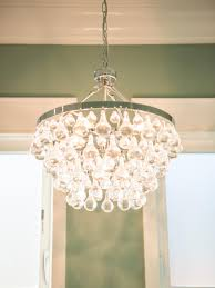 Small Crystal Chandelier For Bathroom Astounding Architecture Design Cream Wall Paint Decoration With