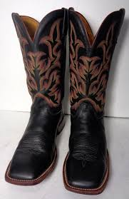womens size 11 square toe cowboy boots justin black leather square toe cowboy boots s size 11