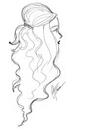 sketches of hair hairstyle sketches from lucky fabb the style confessions