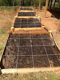 diy raised bed garden irrigation for 100