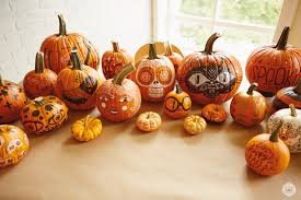 Decorate Pumpkin Diy Simple Pumpkin Decorating With Markers Think Make Share
