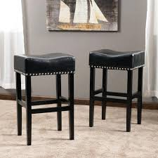 Grey Leather Bar Stool Leather Studded Bar Stools U2013 Lanacionaltapas Com