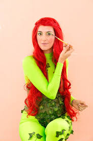 Halloween Costumes Red Hair Uma Thurman Poison Ivy Costume