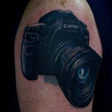 a canon camera tattoo in 2017 real photo pictures images and