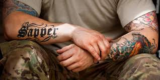 tattoos are dishonorably discharged