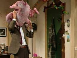 the turkey clip mr bean official