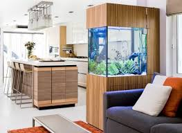 the livingroom give an endless charm to your home with an aquarium