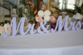 mr mrs sign for wedding table mr and mrs letters mr mrs letters wedding table t