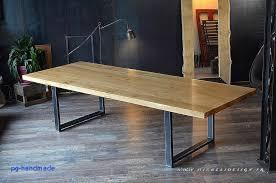 table cuisine bois massif table cuisine bois brut simple table de cuisine pour table en bois