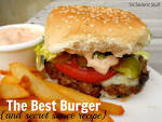 The Best Hamburger Recipe (and