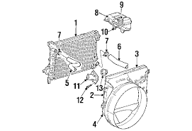 radiator for 2002 dodge ram 1500 parts com dodge cooling radiator and components insulator