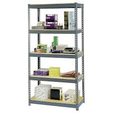 Edsal Shelving Parts by Edsal Home E Quip Gray Steel Canning Shelving Hayneedle