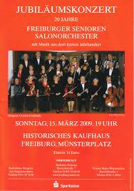 Friseur Bad Krozingen Fsso In Memoriam Das Freiburger Senioren Salon Orchester