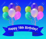 Image result for 18th birthday balloons