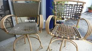 Fixing Patio Chairs Refurbished Outdoor Furniture Photos Los Angeles Encino Ca