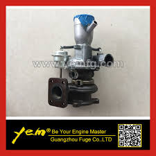 kubota v2607 turbocharger 1j700 17012 oem number 1j700 17012