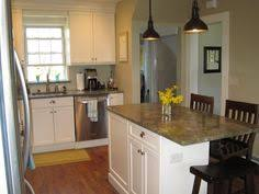 Kitchen Islands For Small Spaces What About Fridge Where The Pantry Is And Microwave In Island I