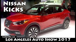 nissan kicks red 2018 nissan kicks los angeles auto show 2017 carnichiwa com