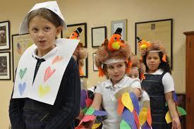 st leonard students host thanksgiving gathering the record