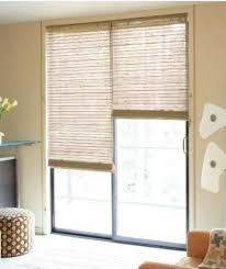 Burnt Bamboo Roll Up Blinds by Roll Up Window Treatments For Sliding Glass Doors Ideal Window