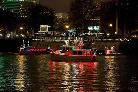 christmas ship parade christmas ships