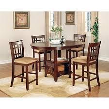 cherry dining room set amazon com