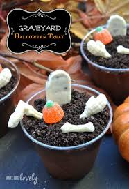 graveyard halloween treat make life lovely